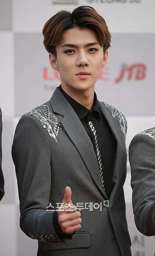 EXO | Oh Se Hun (sehun) | 140928 | Hallyu Dream Festival Red Carpet © sports today | Facebook