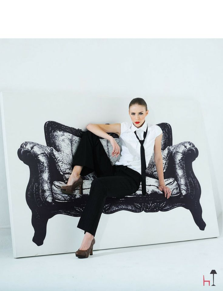 This incredible designer sofa by Innermost will charm and impress everyone.