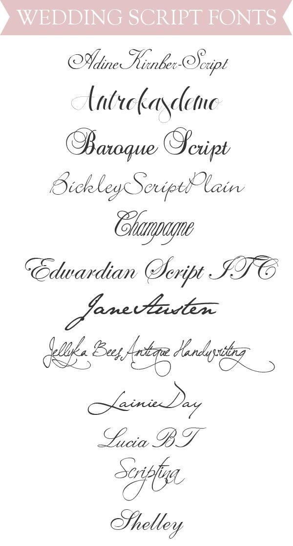 Wedding Scripts Fonts.Best Wedding Script Fonts Cricut Calligraphy Fonts