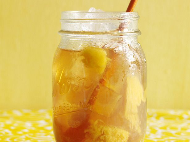 Peach Ginger Iced Tea Recipe