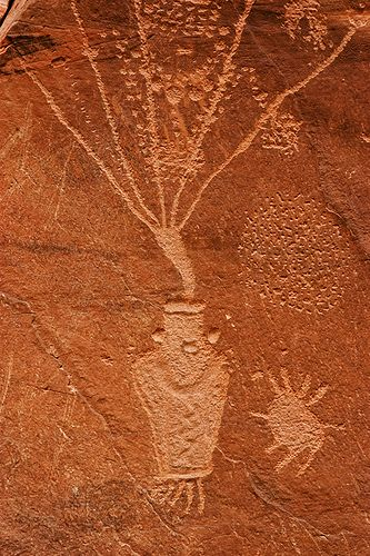 Petroglyph near Dinosaur National Park