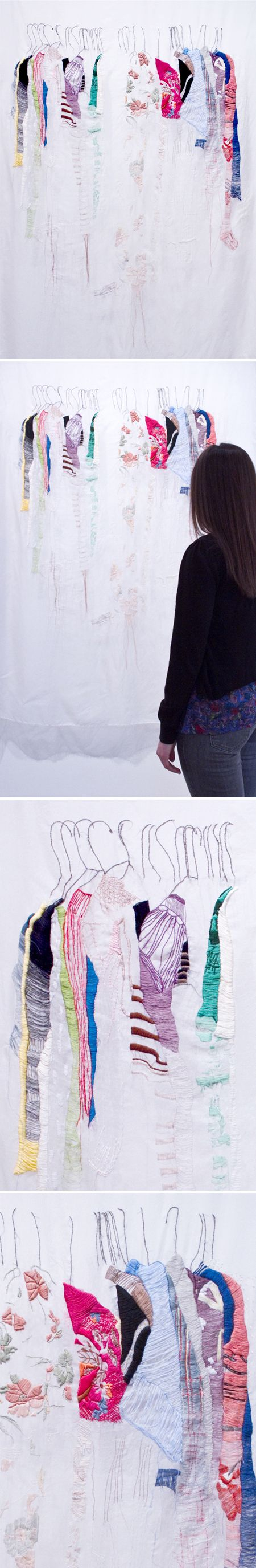 "allison watkins - ""my closet in san francisco"" {embroidery}"