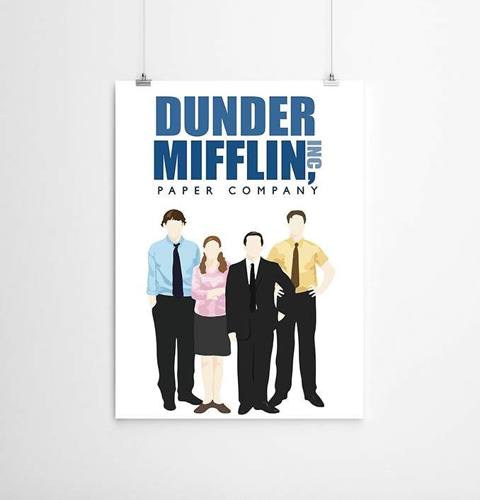 Our The Office Cartoon - Dunder Mifflin Poster is available online now for just £10.99.    Fan of The Office? You'll love our The Office Cartoon - Dunder Mifflin A2 poster, the perfect addition to your wall.    Material: 250gsm Silk Paper, Production Method: Printed, Authenticity: Unofficial, Weight: 70g, Thickness: 0.4mm, Designed & Produced in: United Kingdom, Size: A2 (594mm x 420mm), Main Colour: White, Product Type: Poster    Categorised as : Home, TV Shows & Films, The Office, Posters