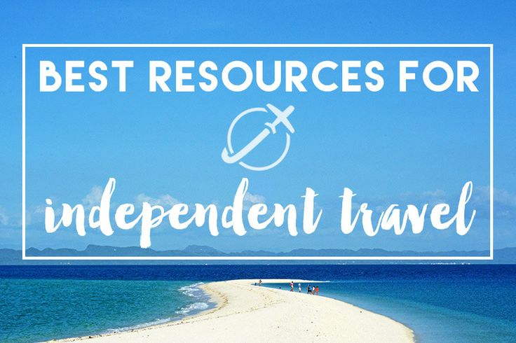 Whether you're a long term traveler or taking a short vacation, we've got the best resources for independent travel right here! The number one is ...