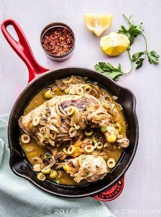 La recette du véritable poulet Yassa sénégalais.