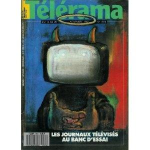 Télérama - n°1974 - 11/11/1987 - Les journaux télévisés au banc d'essai / André François (dessin de couv.) [magazine mis en vente par Presse-Mémoire]