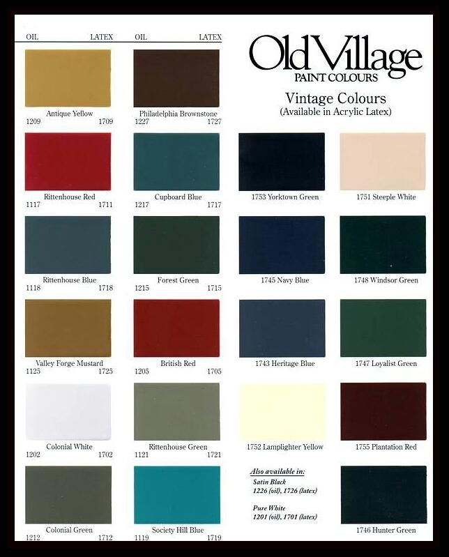 Old Village Paints Exterior Paint Colors For House Paint Colors For Home Exterior Paint Colors