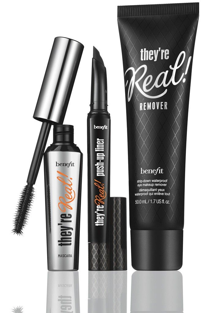 Items from Benefit Cosmetics' Real line. [Courtesy Photo]