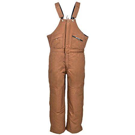 Key Clothing Unisex Cotton Duck 275 29 Insulated Bib Overalls