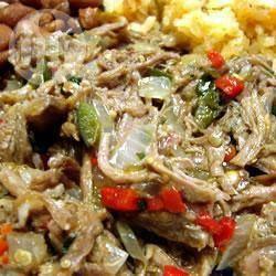 Tacos de carne deshebrada de res @ allrecipes.com.mx