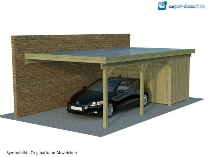 die besten 25 carport mit abstellraum ideen auf pinterest carport mit schuppen stahl. Black Bedroom Furniture Sets. Home Design Ideas