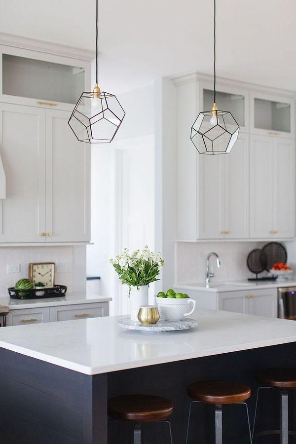 Pendant Light Light Fixture Chandelier Design White Countertop In