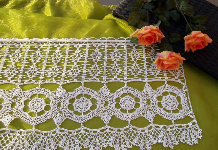 Gardinen - Häkelgardine  - ein Designerstück von Haekel-Tante bei DaWanda