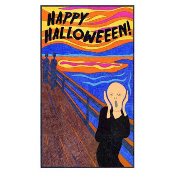 halloween mural ideas