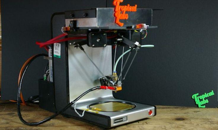 Crean una impresora 3D con una cafetera vieja y una placa Arduino - http://www.hwlibre.com/crean-una-impresora-3d-con-una-cafetera-vieja-y-una-placa-arduino/