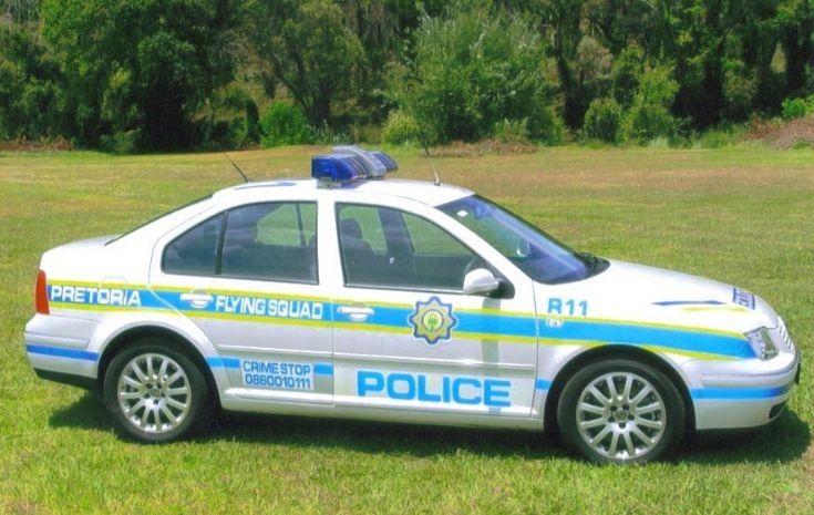 South-African Police Service Volkwagen Jetta