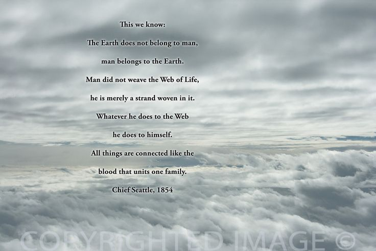 Native American Spirituality Quotes | ... - Josephine ...