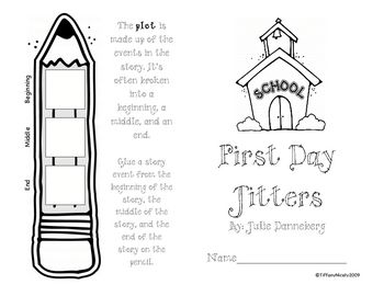 Tiffany Nicely created this graphic organizer to use after reading First Day Jitters in the Treasures reading series published by MacMillan/McGraw-...
