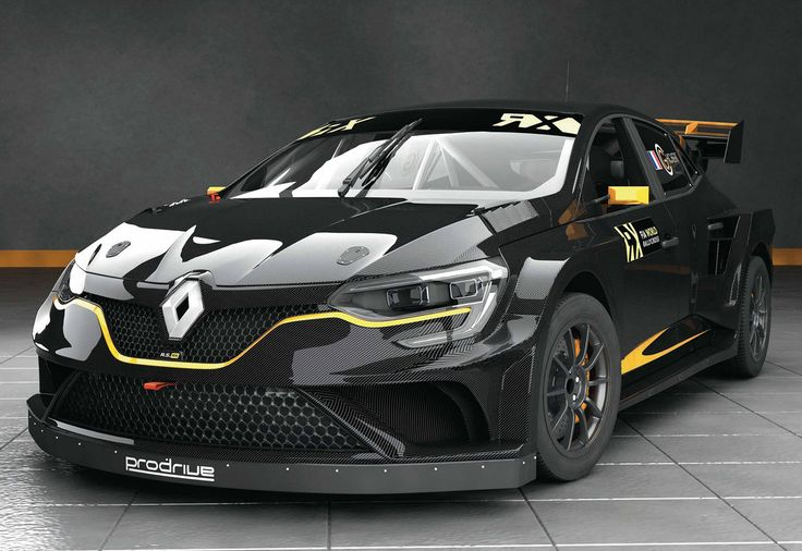 At the hands of Monster Energy athlete Guerlain Chicherit, a Renault Mégane  IV will enter the 2018 FIA World Rallycross Championship (World RX).