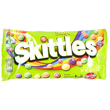 Sour Skittles sweets $4.00