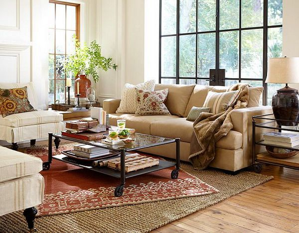 like the layered rugs pottery barn living rooms ideas pottery barn paint colors spring living room