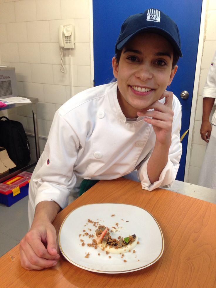 Examen final de pastelería avanzada en el Instituto Superior Mariano Moreno VENEZUELA