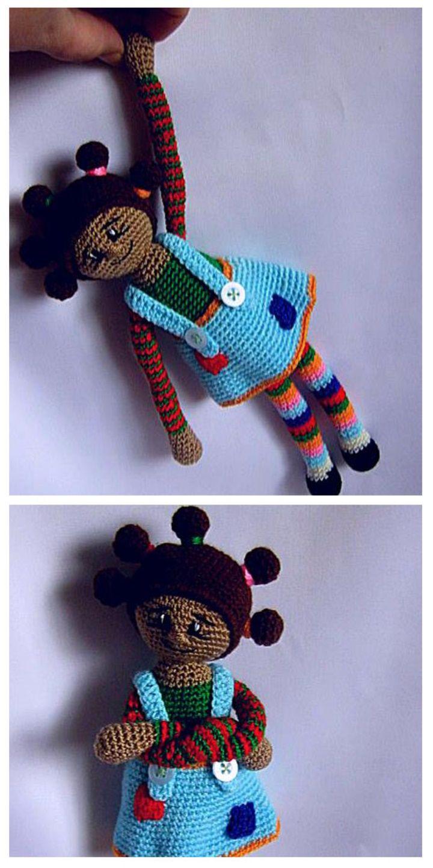 Artesanatos: Faça e Venda: Como fazer boneca de crochê com vídeo ... | 1440x720