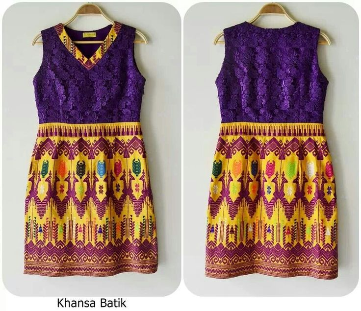 Lombok Woven dress by Khansa Batik
