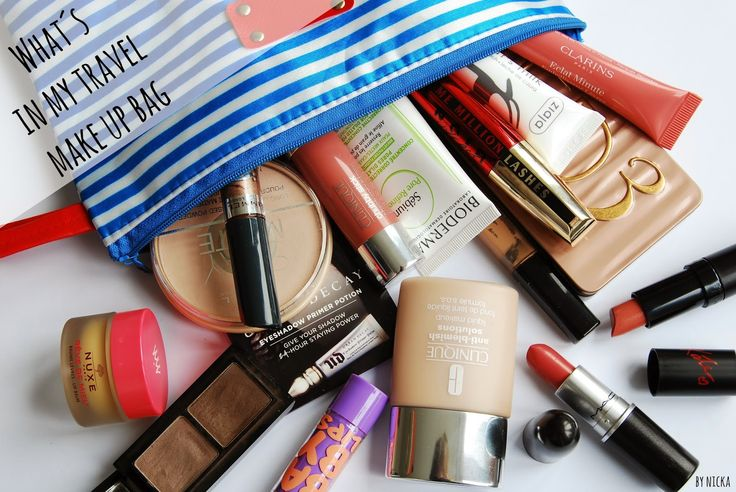 Nicka The Beauty Hunter: What´s in my travel make up bag