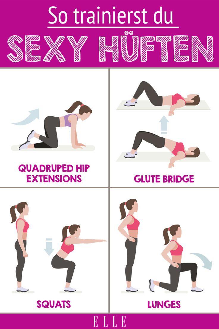 Deine Hüften sind zu schmal? So kannst du sie trainieren – Fitness Tipps