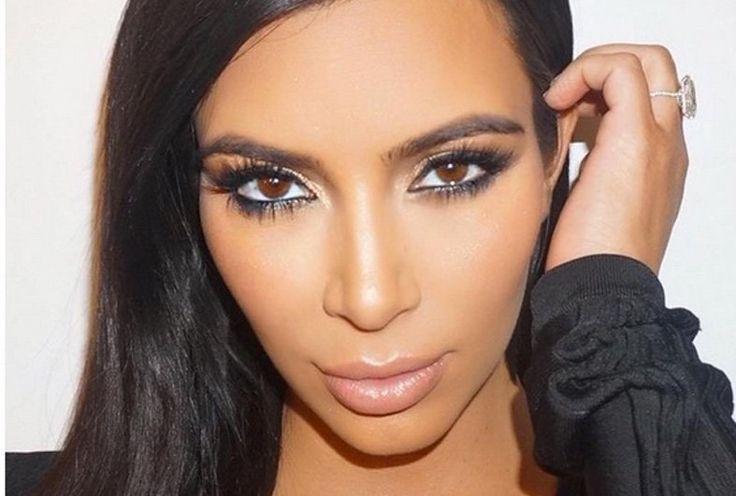 Der Mega-Wimpern-Trick von Kim Kardashian