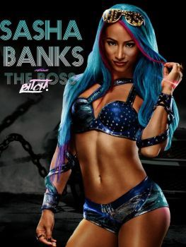 Sasha Banks - Boss Bitch by KitaTheCrystalBlues