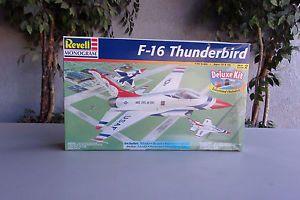 Vintage Revell Monogram F-16 Thunderbird Model Kit USAF 1/48 $12.99