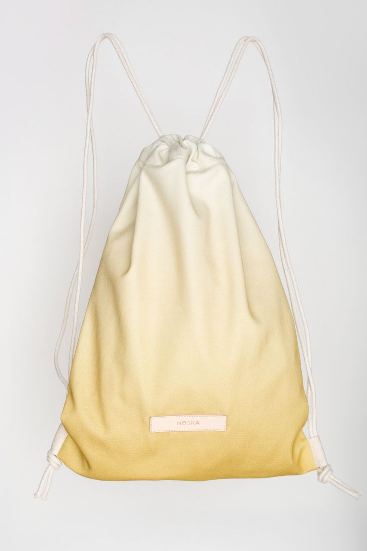 Wild Honey | NOSKA SHOP  #WildHoney #Honey #Yellow #CloudDancer #CreamGold #Gold #drawstring #bag