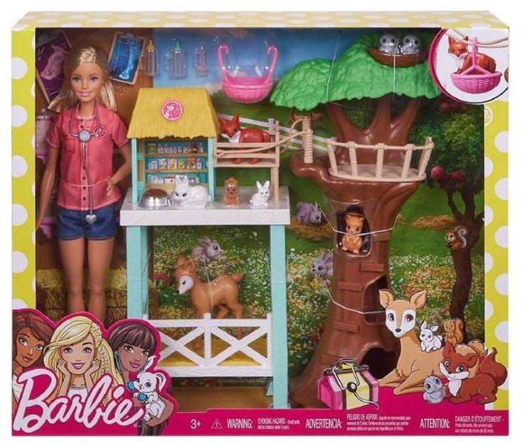 Barbie centro soccorso animali Mattel