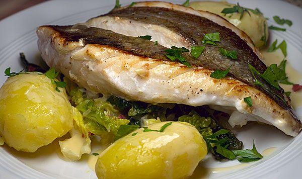 St. Petersfisch auf Wasabi-Wirsing