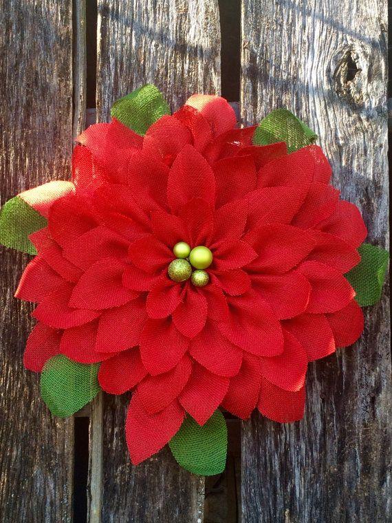 Poinsettia Wreath Poinsettia Christmas Wreath By