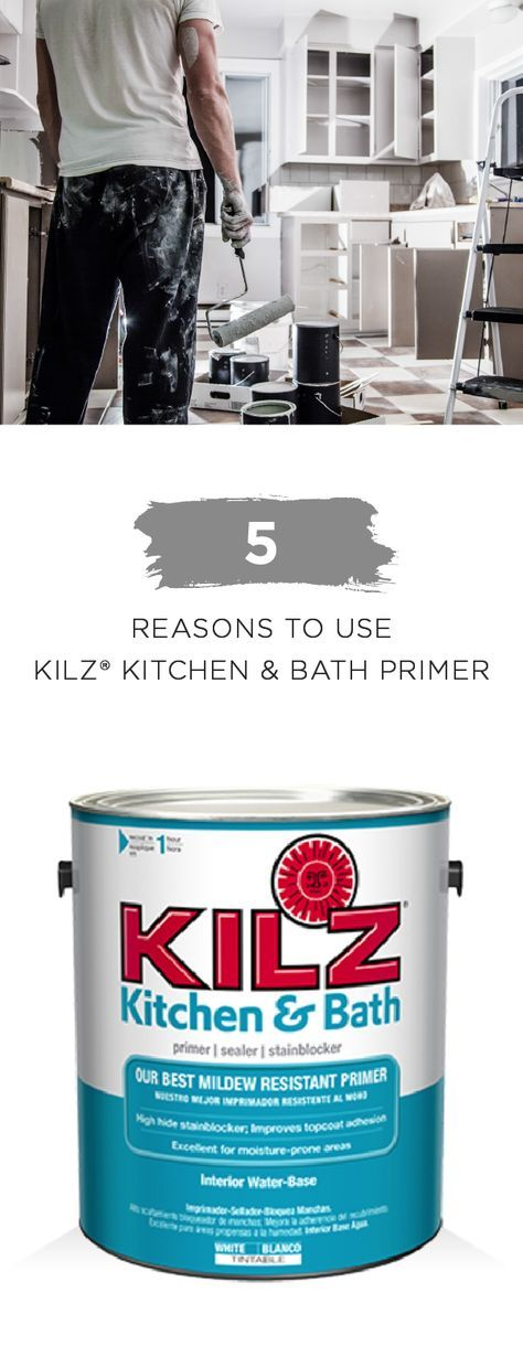 Kilz Kitchen And Bath Primer Floor