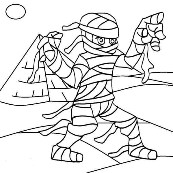 Egyptian Mummy Coloring Pages In 2020 Coloring Pages Egyptian Mummies Free Coloring Pages