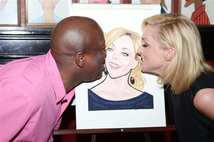This is Tituss Burgess and Jane Krakowski's idea of a threesome.