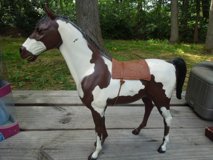 Ah Storm Cloud A Lovely Paint Horse For Chief Cherokee