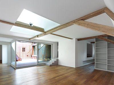 Apartment in Neuchatel, Switzerland, by Manini Pietrini Architects