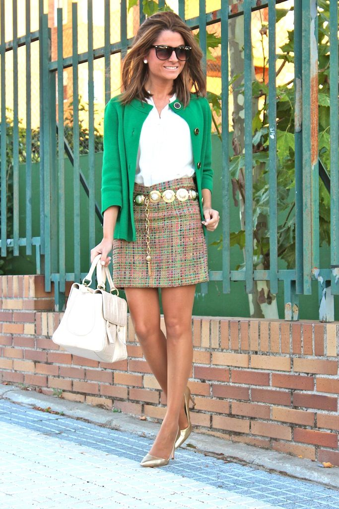 Oh My Looks Skirt : Multicolored Chanel / Falda Oh My Looks : Chanel multicolor | Ohmylooks.com