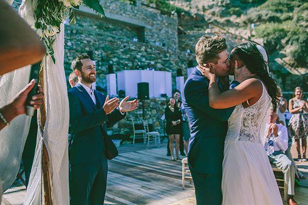 Ρουστικ γαμος στη Σιφνο | Amy & Mathew - Love4Weddings