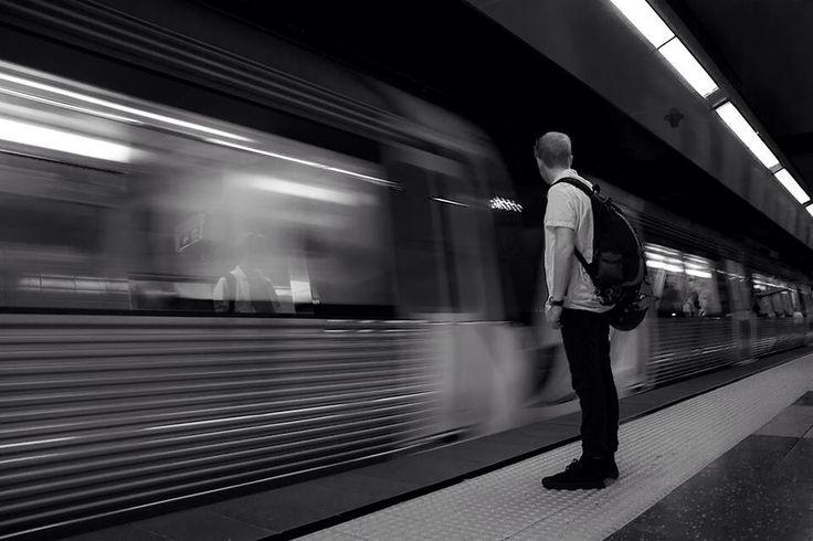 Perth Underground Station. Taken by Matthew Schneider.