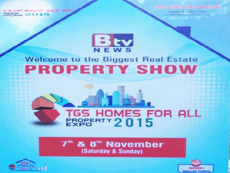 A mega event of property expo organized by Btv news on 7th and 8th Nov for the property buyers of Bangalore. TGS Layouts participated in the event .