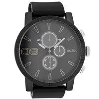 Sport Silver on Black OOZOO Watch