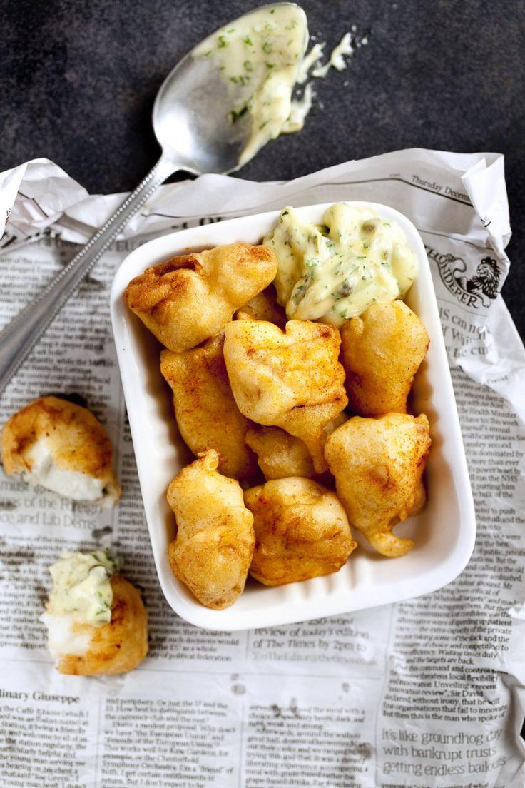 Gefrituurde vis met remoulade - Foodies