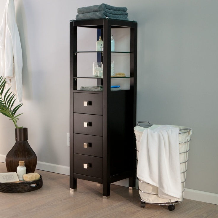 bathroom floor cabinet ikea storage dark brown wall cabinets