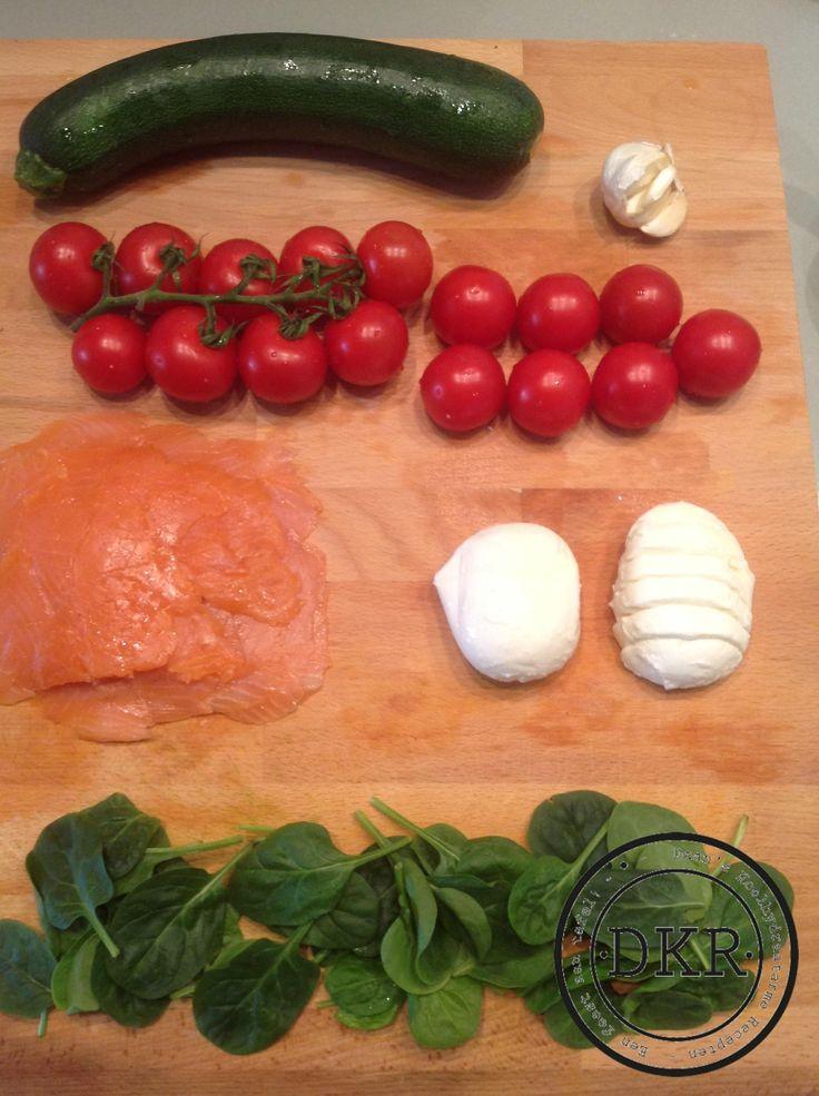 Heerlijk avondeten voor twee personen (per persoon twee porties) Een lasagne van vis met groenten! Wederom verse ingrediënten maken dit gerecht tot een van ...